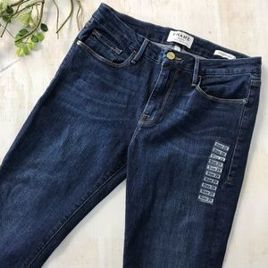 Frame High Rise Le Crop Mini Boot Size 29 New